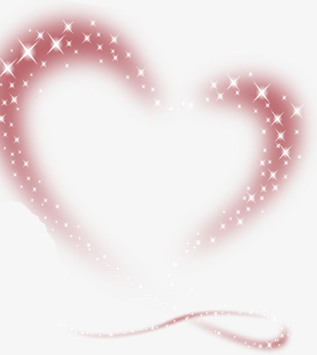 Pink Love Star Effect Element PNG, Clipart, Abstract.