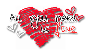 Love Text PNG Pic.
