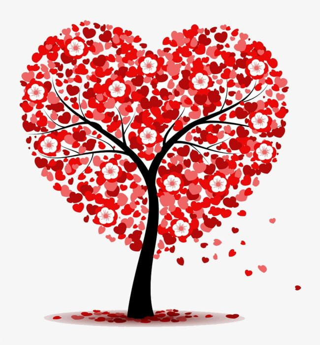 Love Tree PNG, Clipart, Big, Big Tree, Decoration, Love.