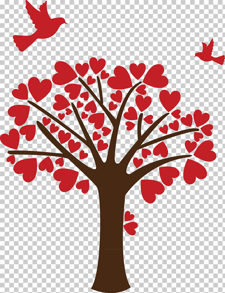 Wish Tree Love , love tree PNG clipart.