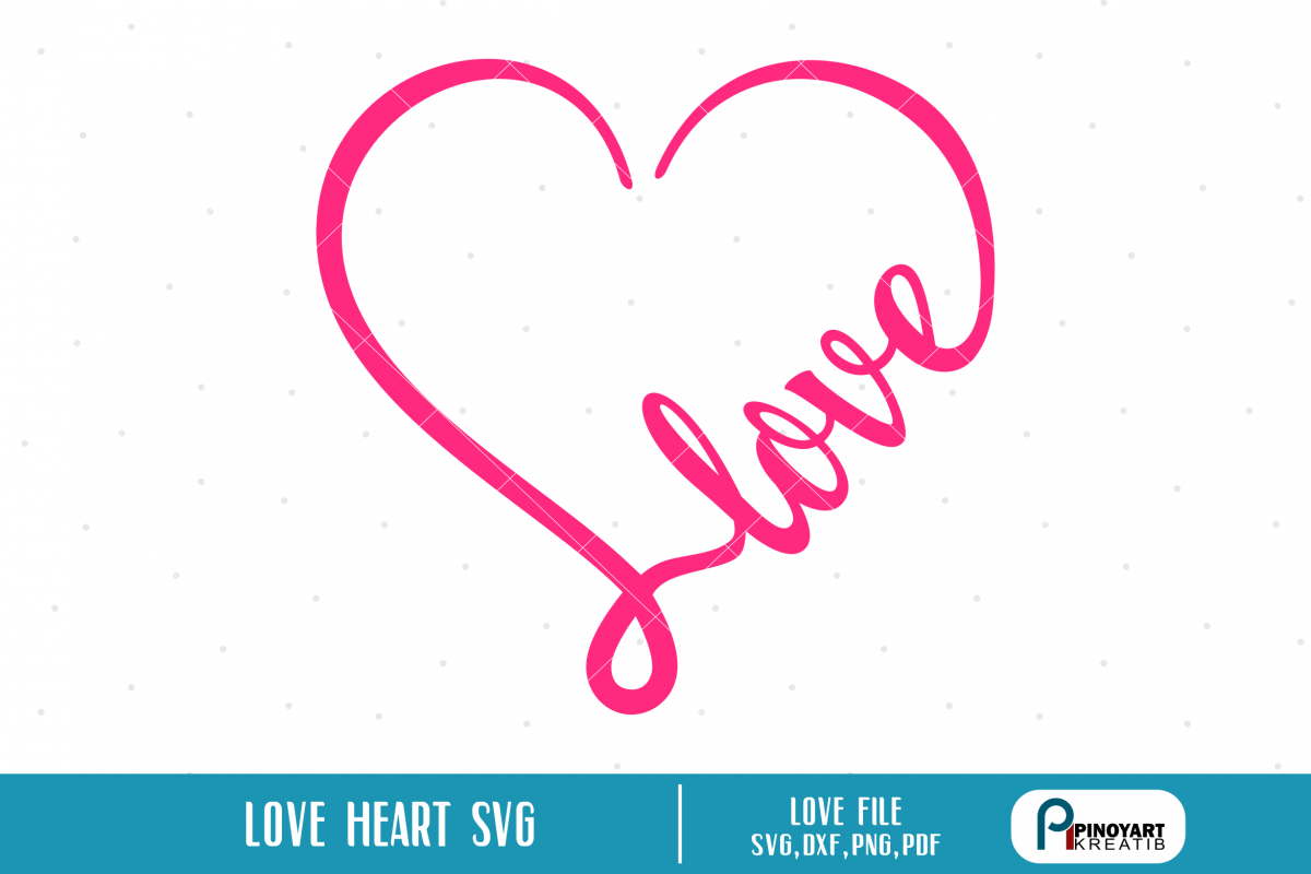 Love Heart svg.