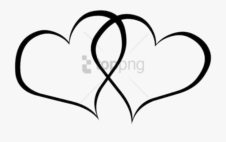 Free Png Fancy Love Heart Outline Png Image With Transparent.