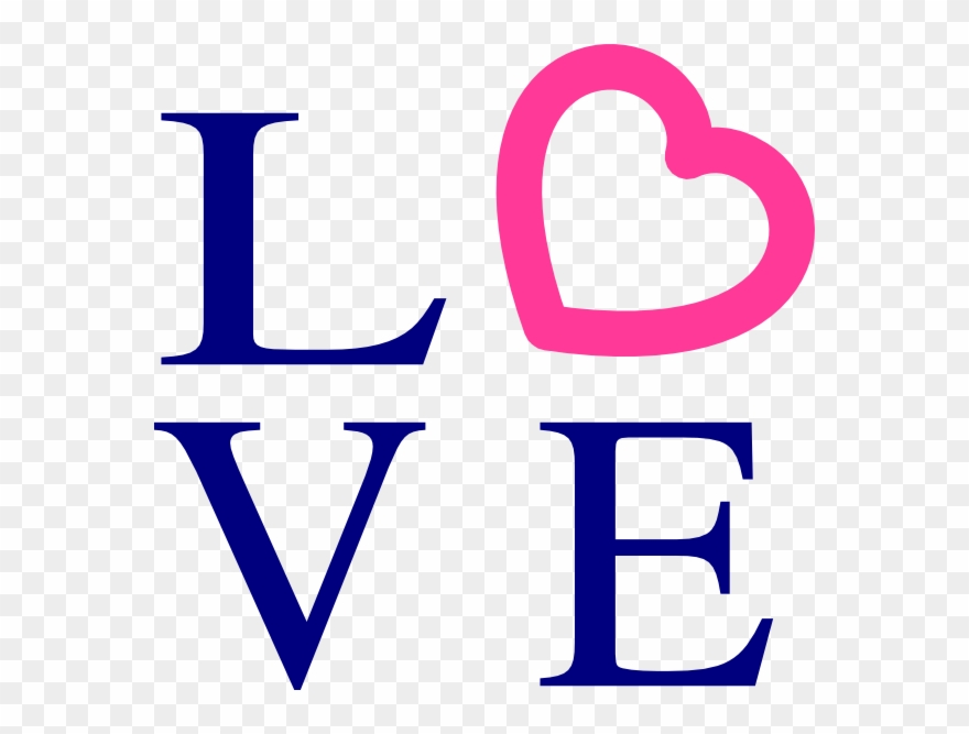 Word Love Clipart.