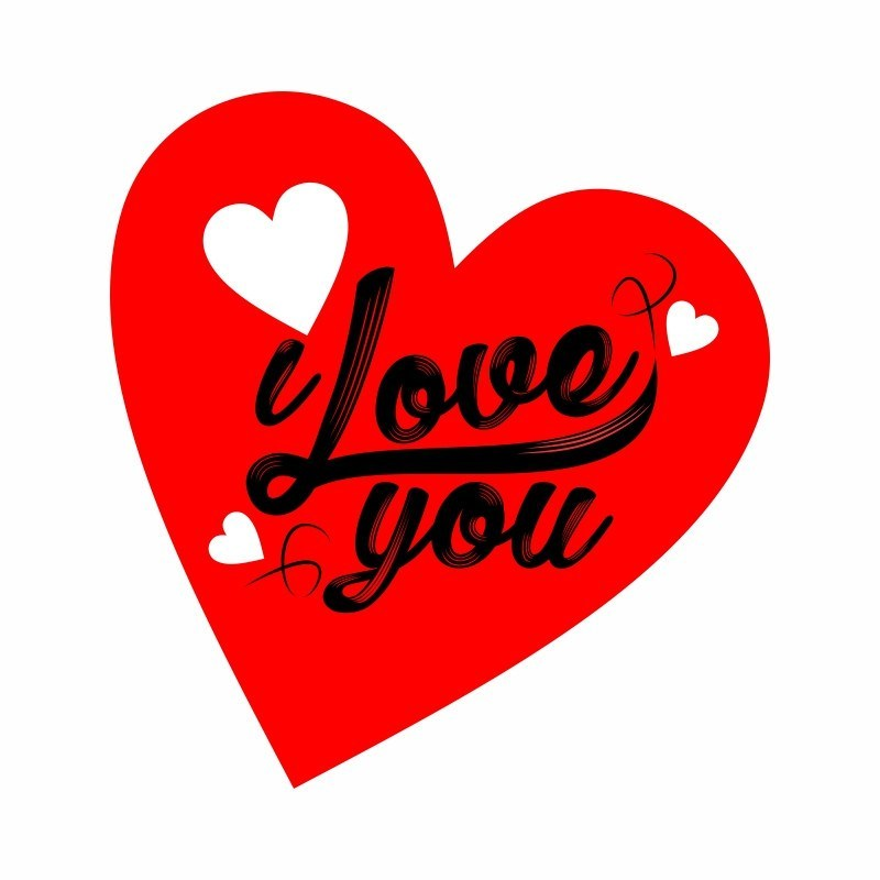 New ] valentine's day I Love you png Download.