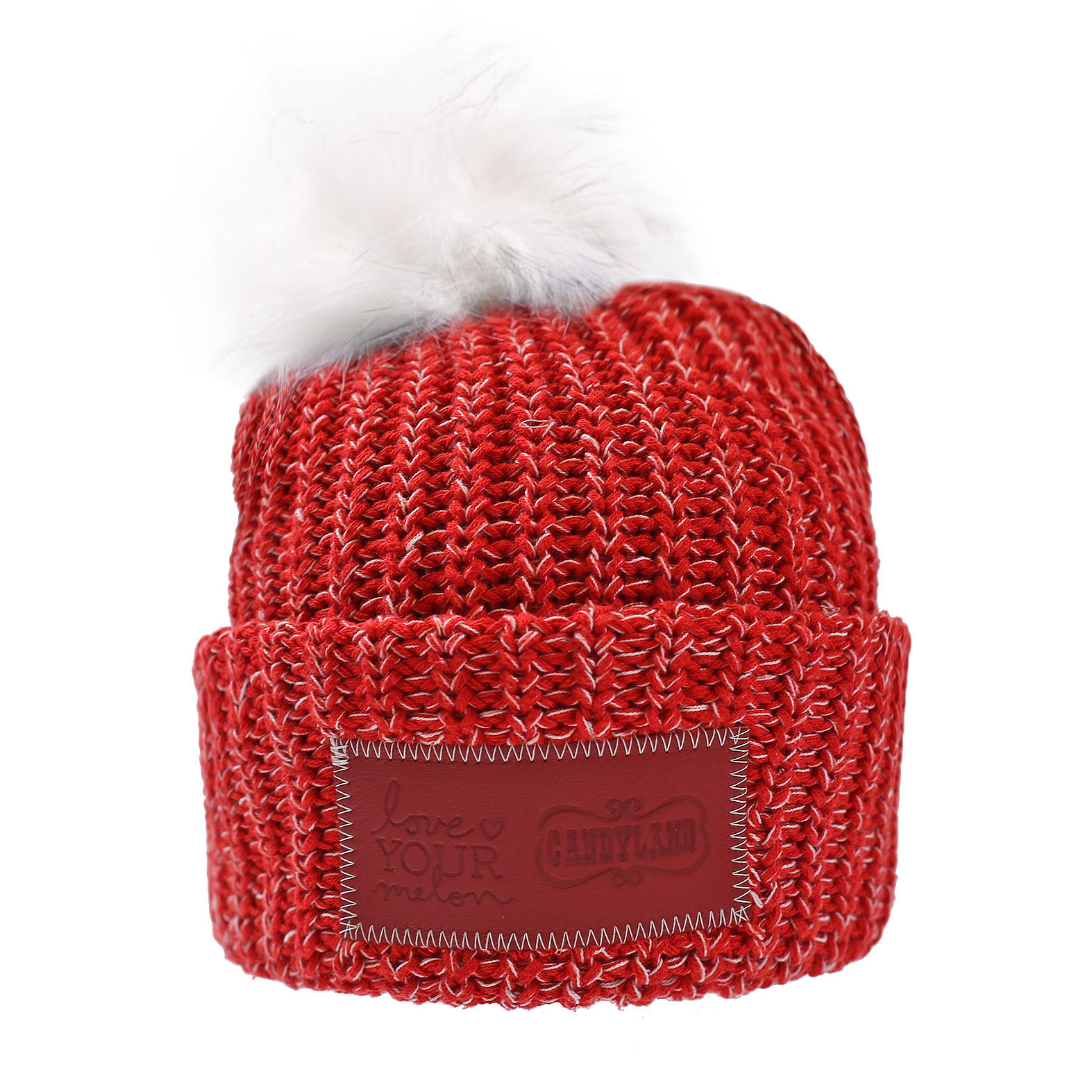 Love Your Melon + Candyland POM Beanie.