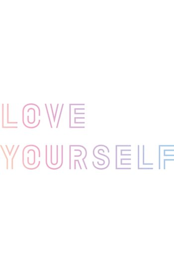 \'BTS_ LOVE YOURSELF LOGO\' Poster by goldentaekook.