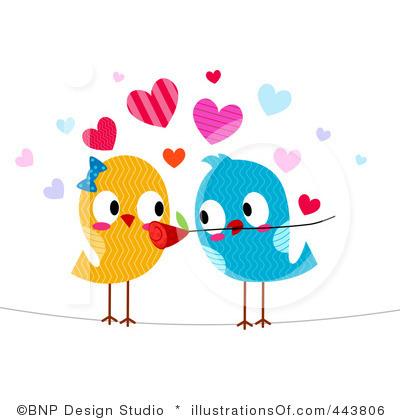 Love Birds Clipart Wedding.