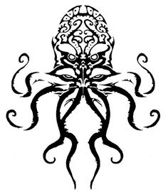 Cthulhu(I have a hat with this symbol on it)..