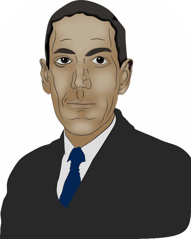 Free Clipart: HP Lovecraft.