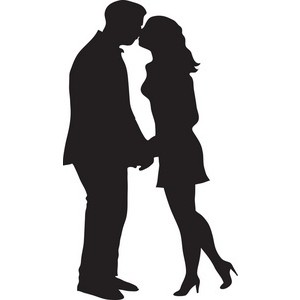 Lovers clipart kiss.