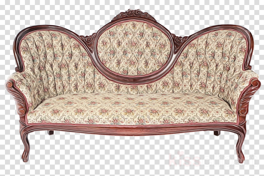 furniture loveseat brown outdoor furniture couch clipart.