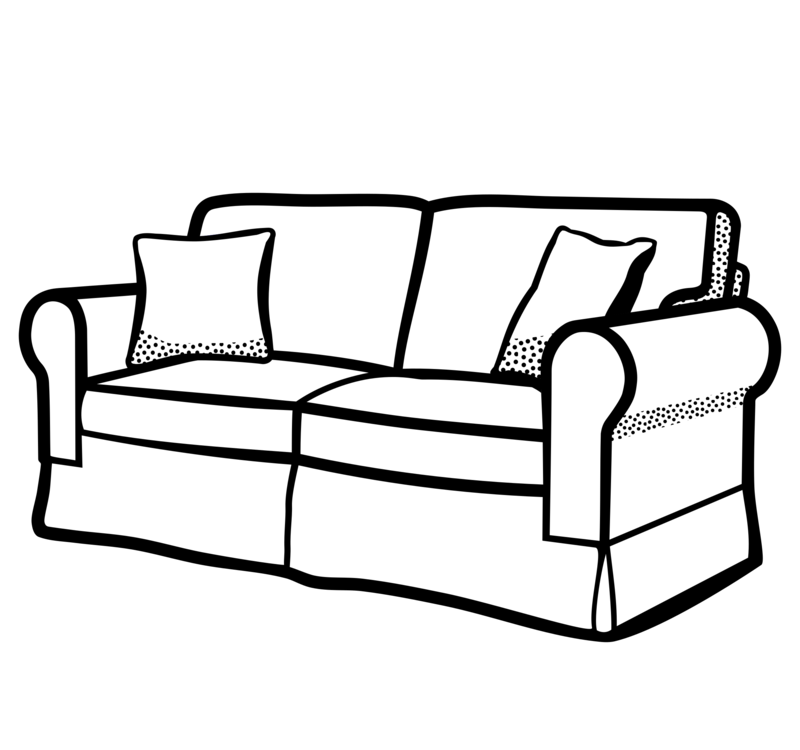 Couch clipart loveseat, Couch loveseat Transparent FREE for.