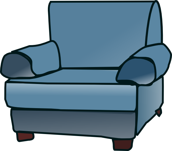 Loveseat Clip Art at Clker.com.
