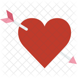 Lovestruck Icon of Flat style.