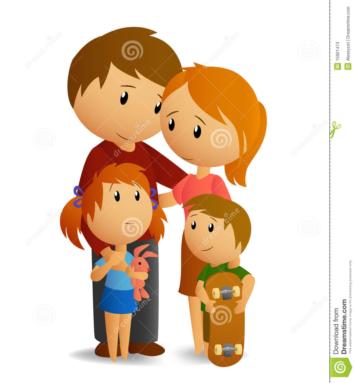 Loving family clipart 4 » Clipart Station.