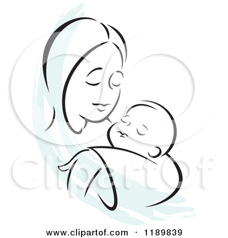 Loving mother clipart #17