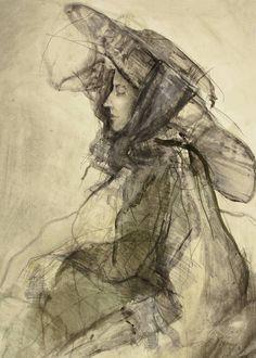 Lovis Corinth. Innocentia 1890. Huile sur toile 66,5 x 54,5 cm.