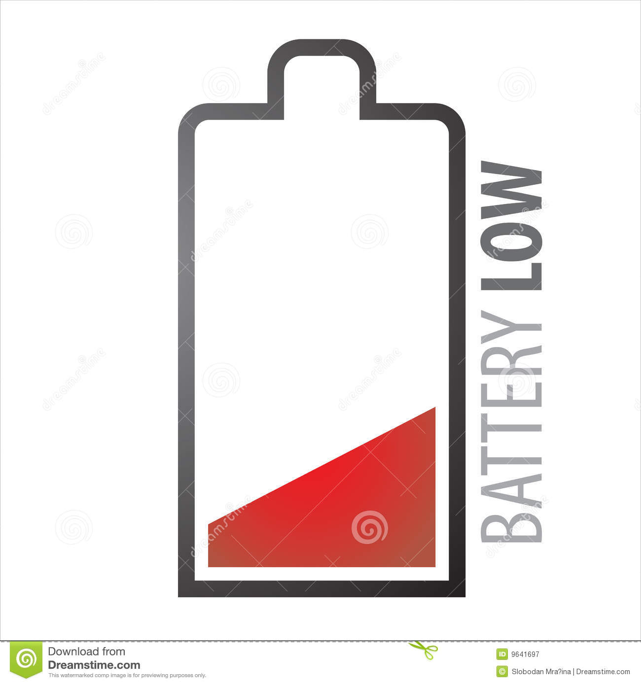 Low Battery Clipart (23 )