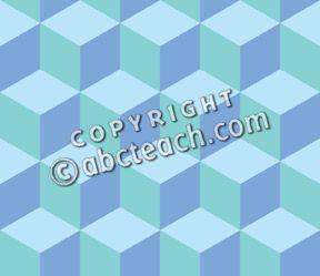 Clip Art: Tile Pattern: Hexagon Color 04 50% Low Resolution.