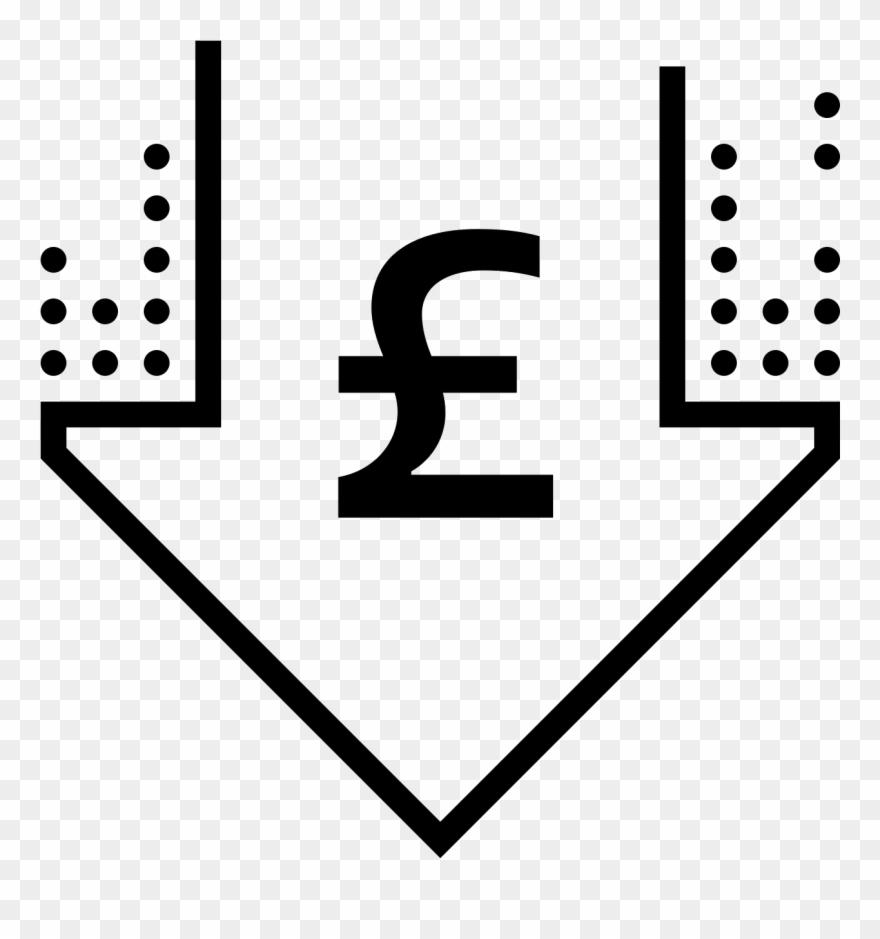 Low Price Pound Icon.