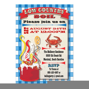 Low Country Boil Clipart.