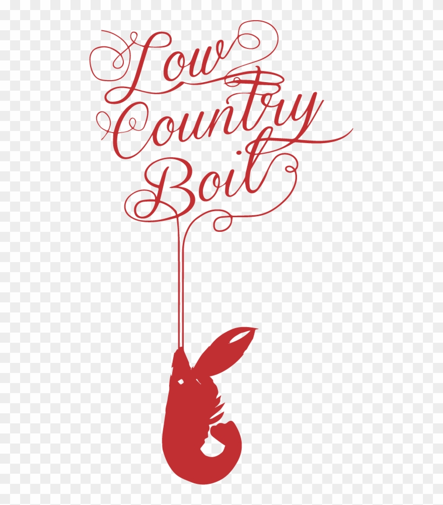 Illustrated An Invitation For The Low Country Boil.