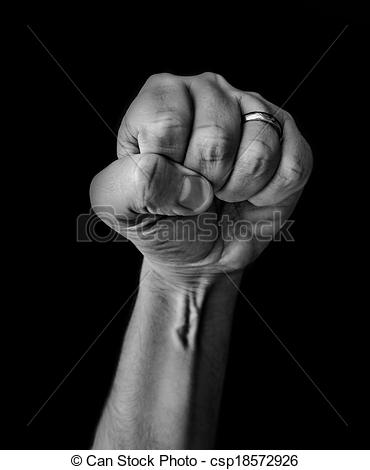 Stock Photo of Low Key arm.
