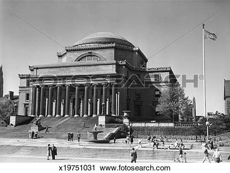 Stock Photography of USA, New York City, Columbia University, Low.
