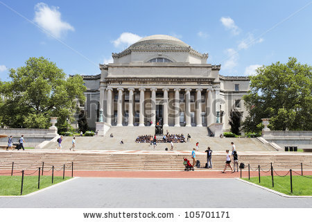 Columbia University Stock Photos, Royalty.