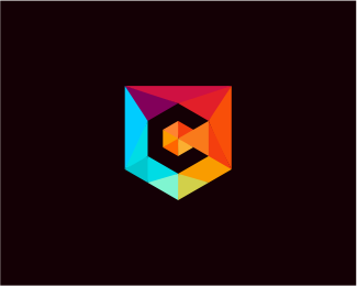 Low Poly Letter C Designed by bejombah.