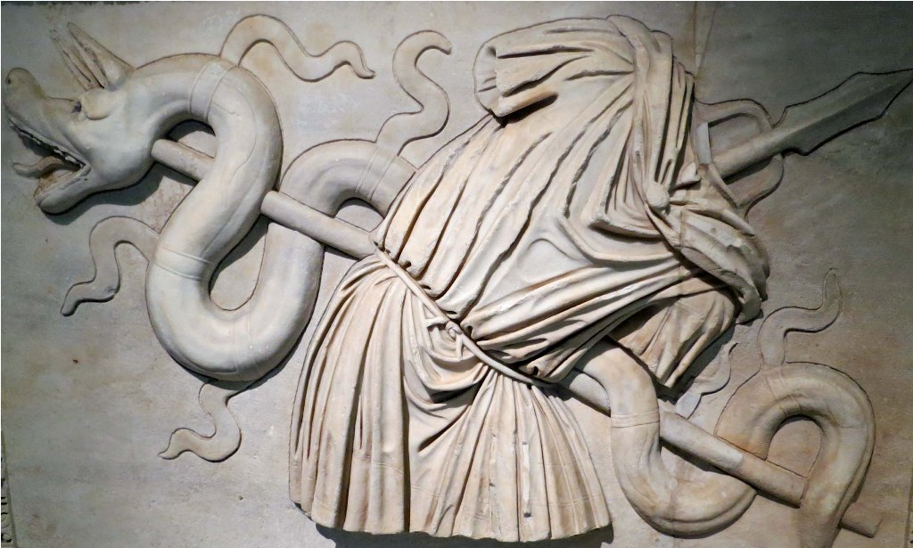 The Amazing Bas Relief Sculpture.