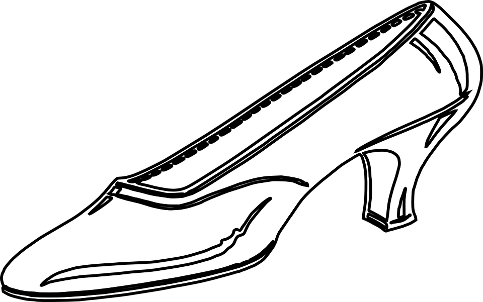 Free vector graphic: Womens Shoe, High Heels.