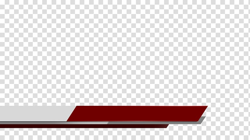 Red and white border, Lower third, lower thirds transparent.