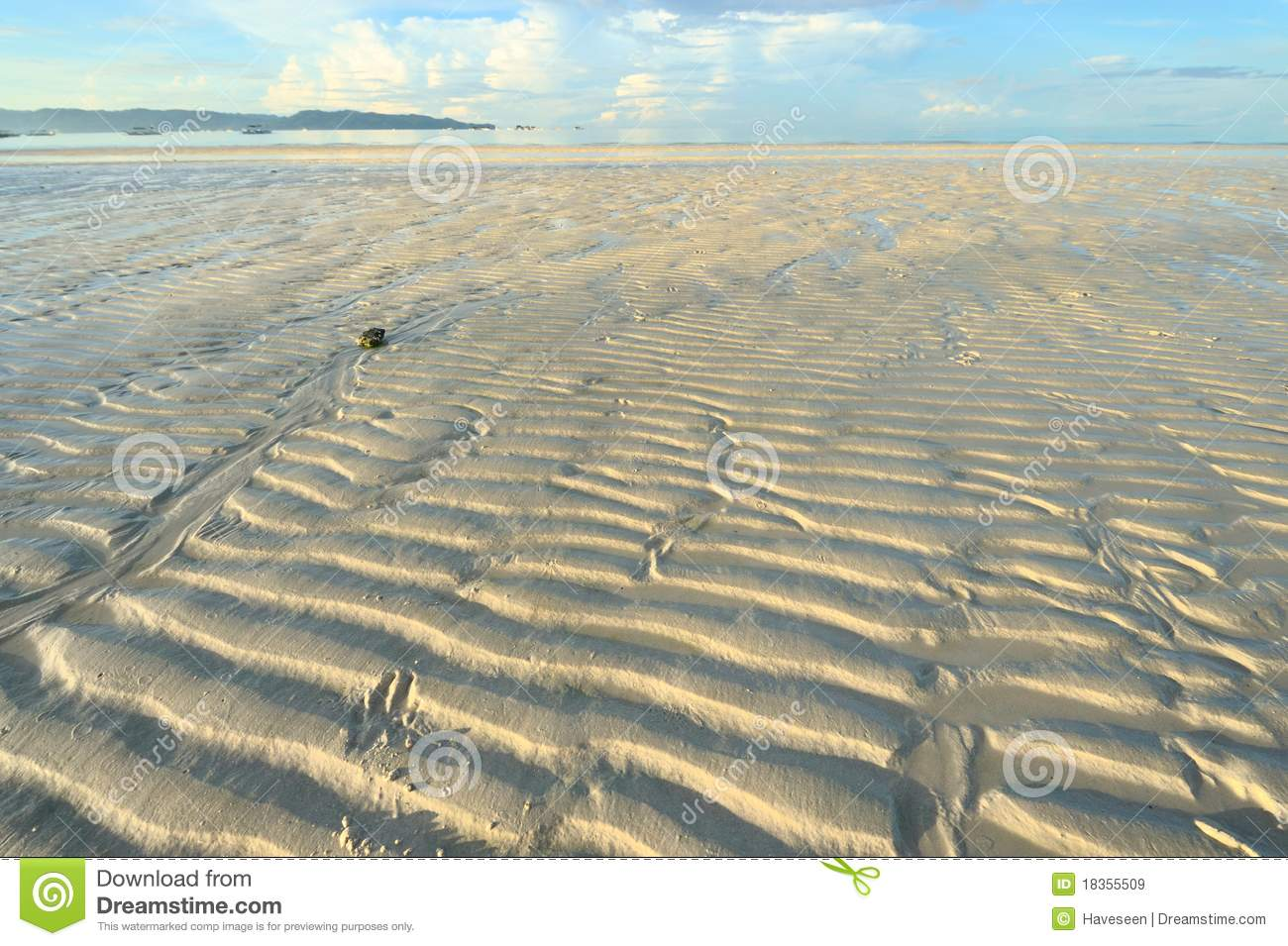 Low Tide Royalty Free Stock Images.