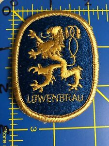 Details about Vintage Lowenbrau Logo Patch Brewery Bavarian Beer Germany  Anheuser.