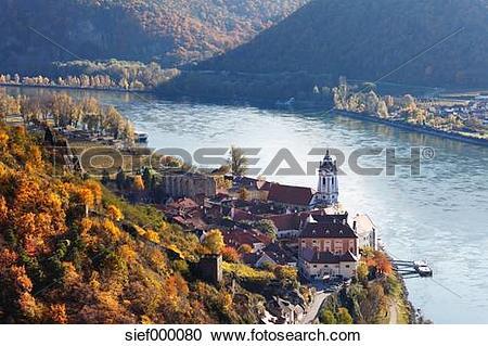 Stock Photography of Austria, Lower Austria, Waldviertel, Wachau.