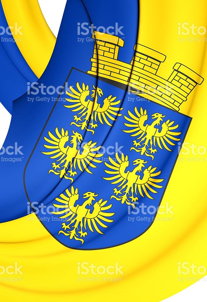 Flag Of Lower Austria stock vector art 485227648.