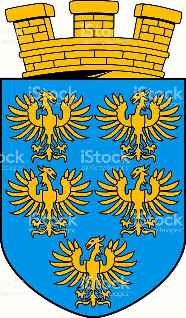 Coat Of Arms Of Lower Austria Austria stock vector art 594484232.