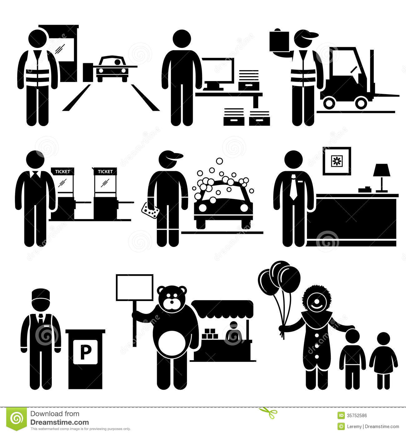 Lower class people clipart.
