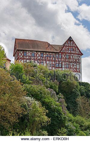 Germany, Bavaria, Lower Franconia, Mainfranken, Ox's Ford, Main.