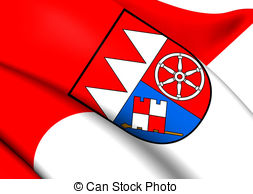 Flag of lower franconia germany Illustrations and Clip Art. 28.