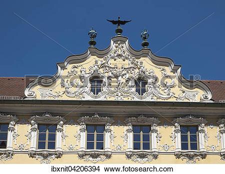 Stock Photo of Haus zum Falken, Falkenhaus, Wurzburg, Lower.