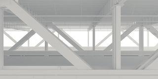 Lower Level Bridge Backdrop Stock Illustrations.