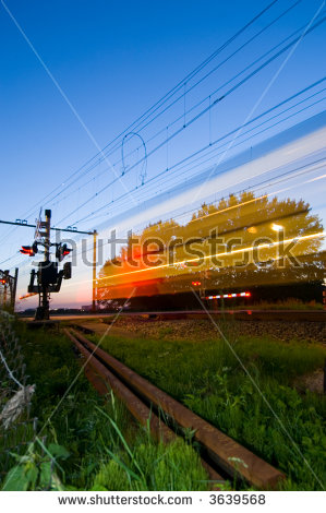 Railway Signal Stock Images, Royalty.