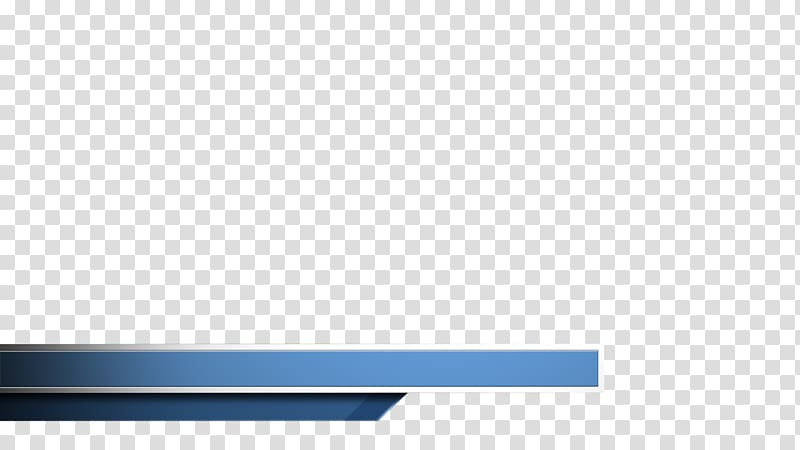 Blue banner, Rectangle Brand, lower third transparent.