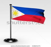 Lowering a flag clipart.