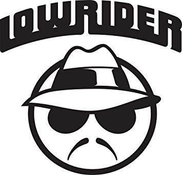 KCD Lowrider Vinyl Decal Sticker.