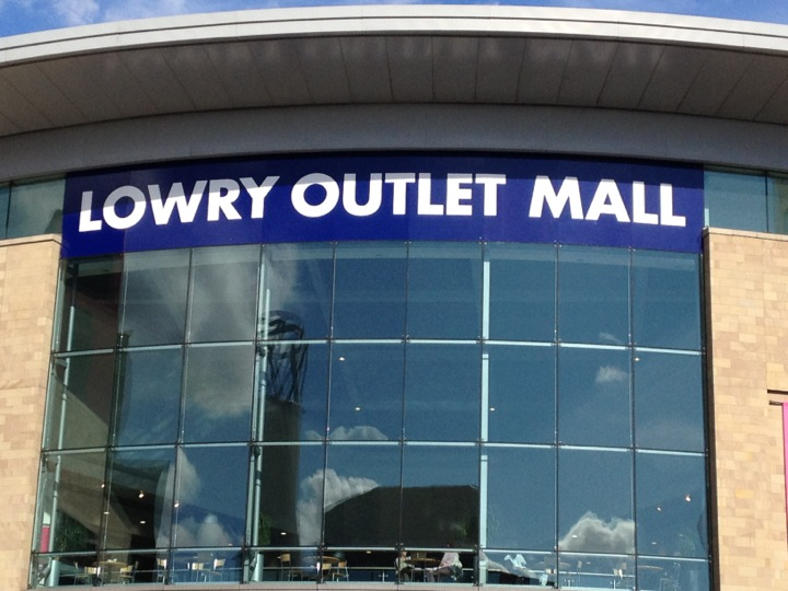 The Lowry Outlet Mall.