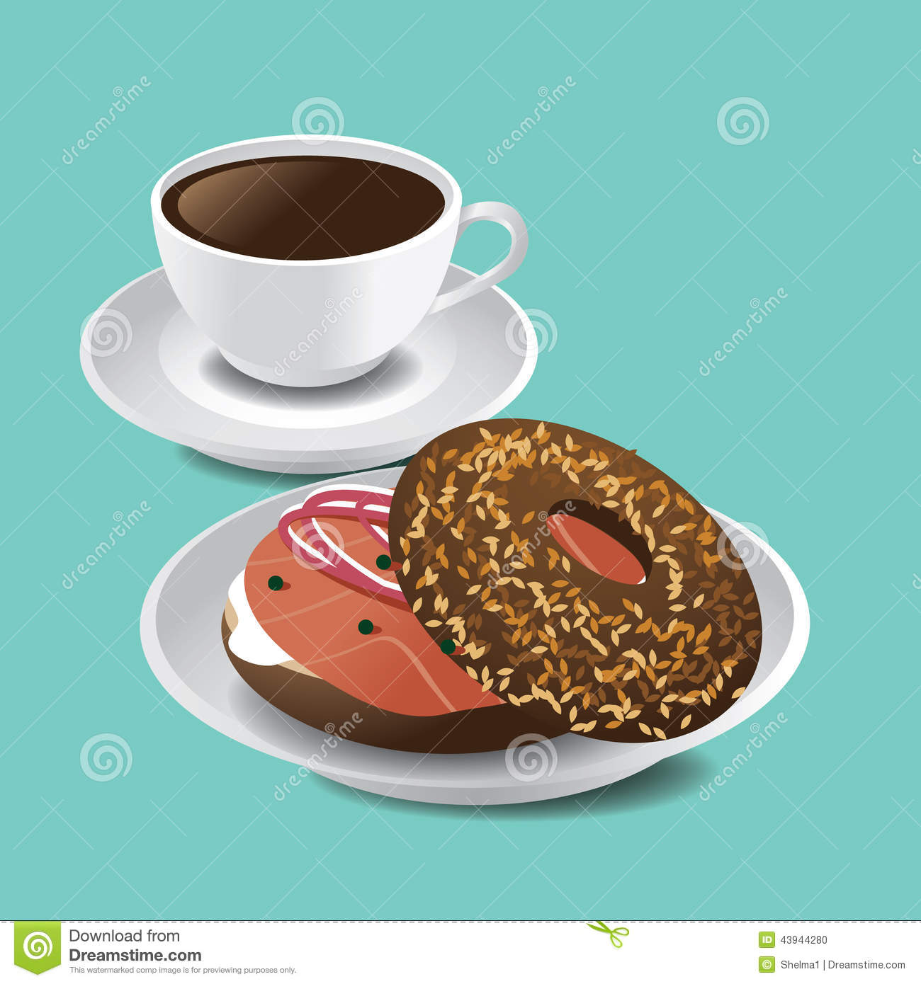 Bagel Lox Stock Photos, Images, & Pictures.