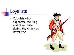 Image result for loyalist clipart.